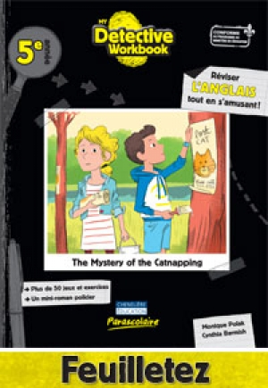 My Detective Workbook - 5e année